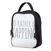 Id Rather Be Napping Neoprene Lunch Bag