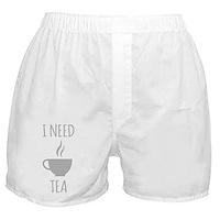 I Need Tea Boxer Shorts