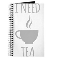 I Need Tea Journal
