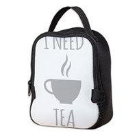 I Need Tea Neoprene Lunch Bag