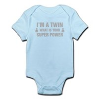 Im A Twin What Is Your Super Power Body Suit