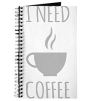 I Need Coffee Journal