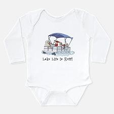 Cute Lake Long Sleeve Infant Bodysuit