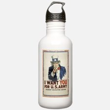 WWI US Army Uncle Sam Water Bottle