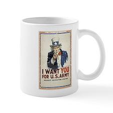 WWI US Army Uncle Sam I Want You Mug