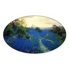 Onderdonk painting, Bluebonnet Fiel Decal