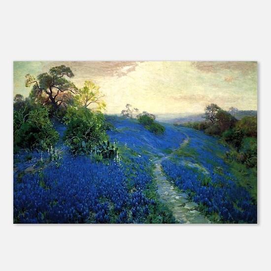 Onderdonk painting, Blueb Postcards (Package of 8)