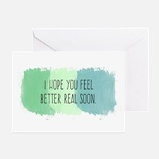Feel Better Soon Greeting Cards