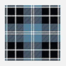 Clark Scottish Tartan Tile Coaster