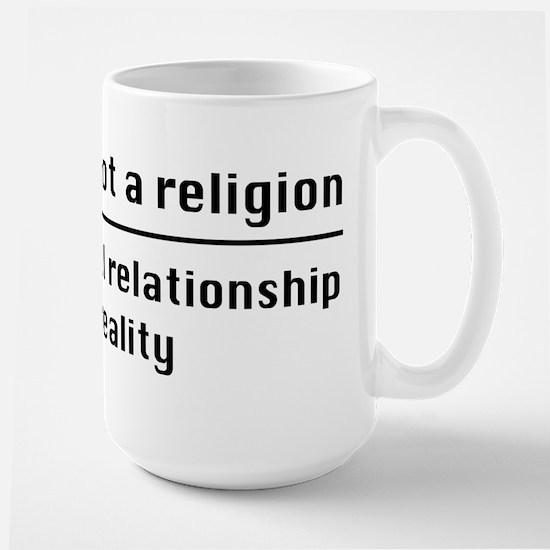 Personal Relationship With Reality Large Mug