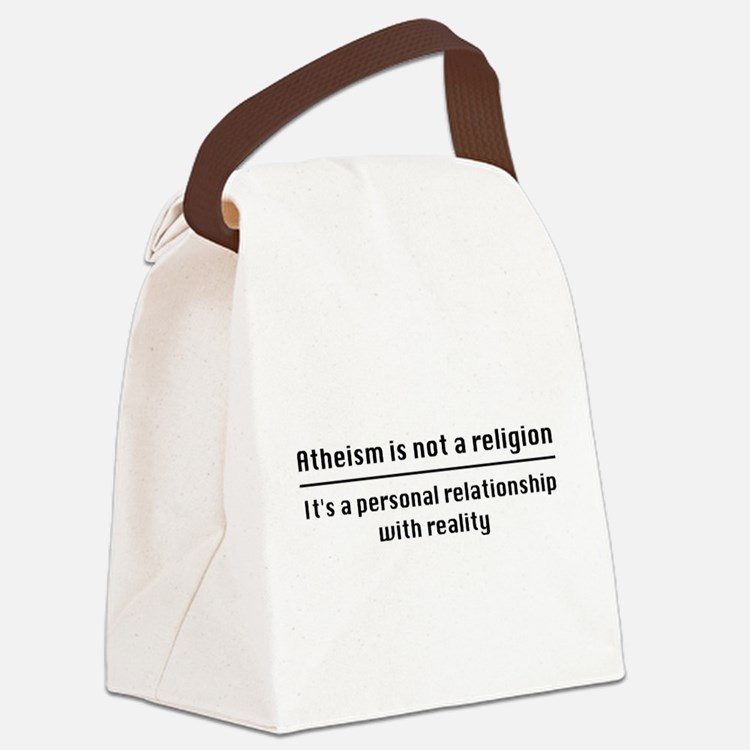 Personal Relationship With Realit Canvas Lunch Bag