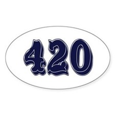 Cute 420 Decal