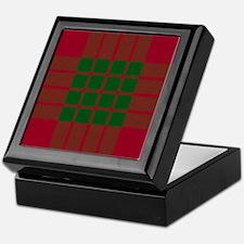 Crawford Scottish Tartan Keepsake Box