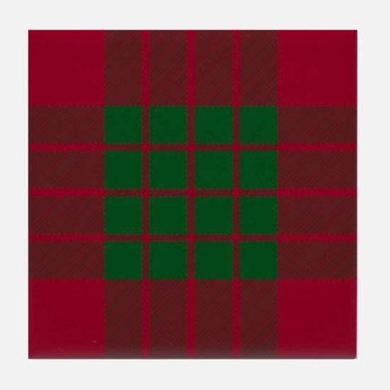Crawford Scottish Tartan Tile Coaster