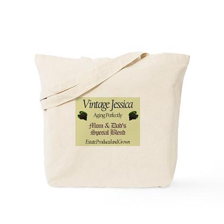 Vintage Jessica Tote Bag