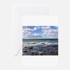 Rocky Shore Greeting Cards
