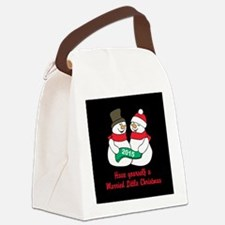 2015 Newlywed Canvas Lunch Bag