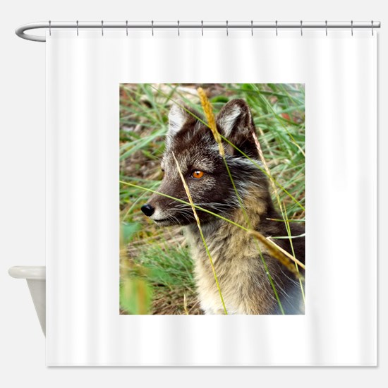 Watchful Fox Shower Curtain