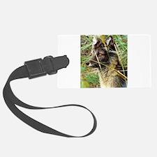 Watchful Fox Luggage Tag