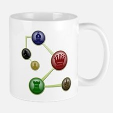 Chess Molecules Mug