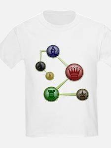 Chess Molecules T-Shirt