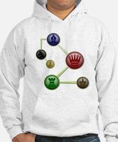 Chess Molecules Hoodie