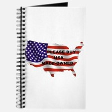Buy USA Made-Owned Journal