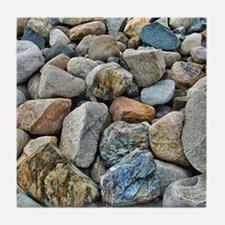 Beach Rocks Tile Coaster