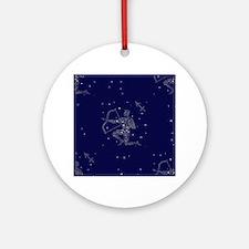stars sagittarius Round Ornament