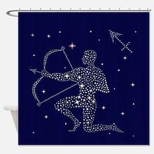 stars sagittarius Shower Curtain