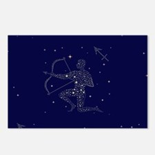 stars sagittarius Postcards (Package of 8)