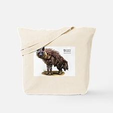 Brown Hyena Tote Bag