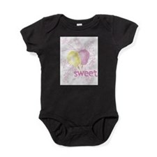 Cool Little valentine Baby Bodysuit