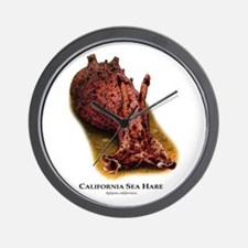 California Sea Hare Wall Clock