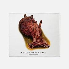 California Sea Hare Throw Blanket