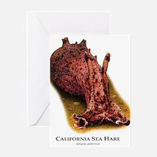 California Sea Hare Greeting Card
