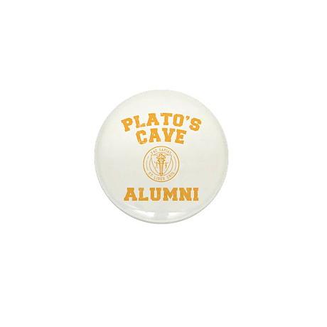 Plato Mini Button