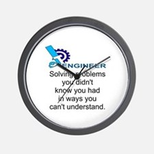 ENGINEERSolving problems you didn't kno Wall Clock