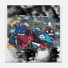 Graffiti Street Art Tile Coaster