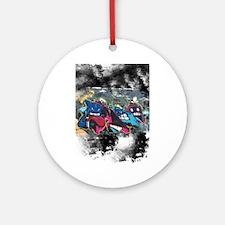 Graffiti Street Art Round Ornament