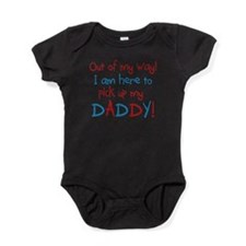 Unique Military daddy Baby Bodysuit