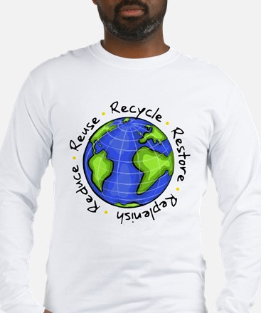 Cute Sustainable Long Sleeve T-Shirt