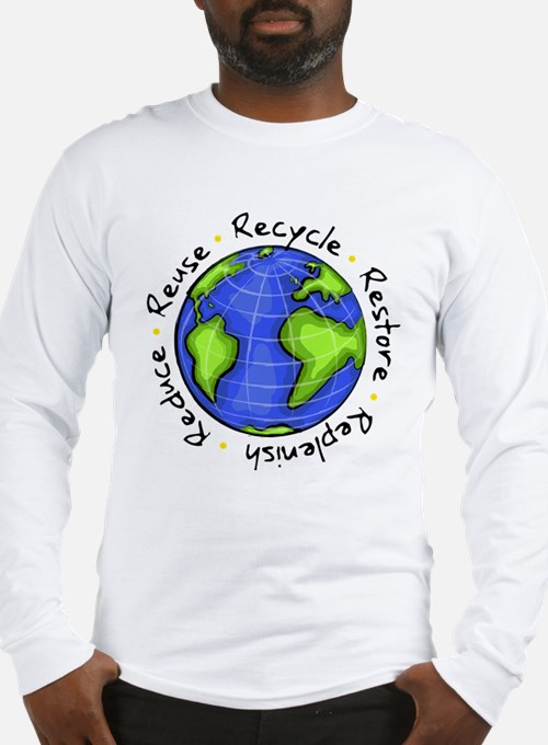 Cute Reduce reuse recycle Long Sleeve T-Shirt