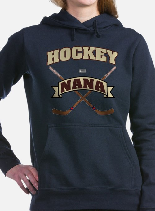 Cute Hockey nana Women's Hooded Sweatshirt