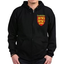Unique England uk Zip Hoodie