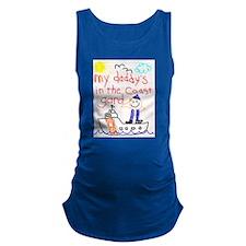 Funny Coast guard Maternity Tank Top