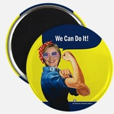 Hillary Clinton We Can Do It Magnet