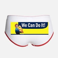 Hillary Clinton We Can Do It Women's Boy Brief