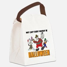 Cute Freddy Canvas Lunch Bag