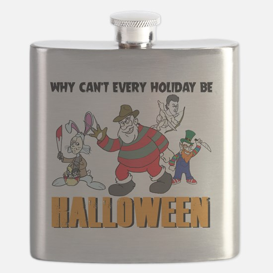 Funny Friday the 13th Flask
